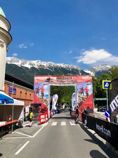 Finishline Innsbruck Alpine