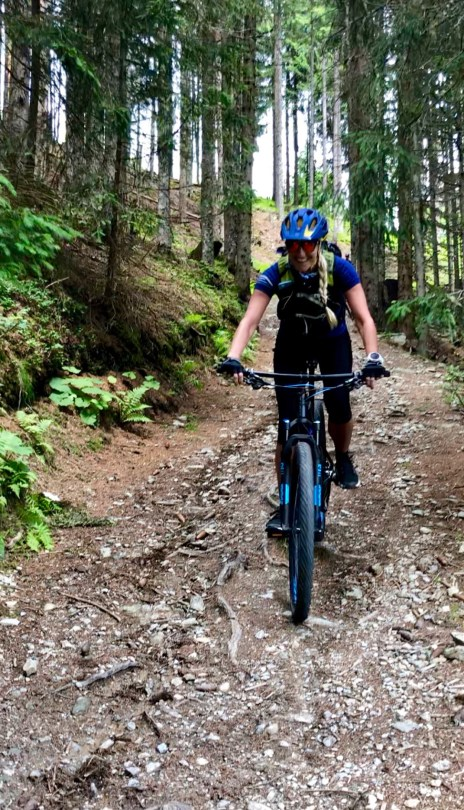 mountainbike trails Flachau