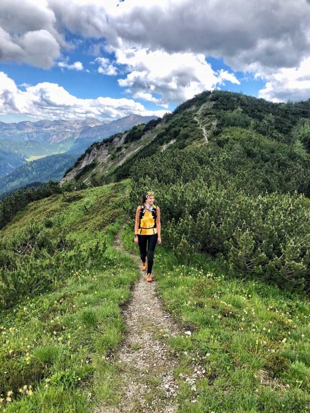 Ridge mountains Flachau