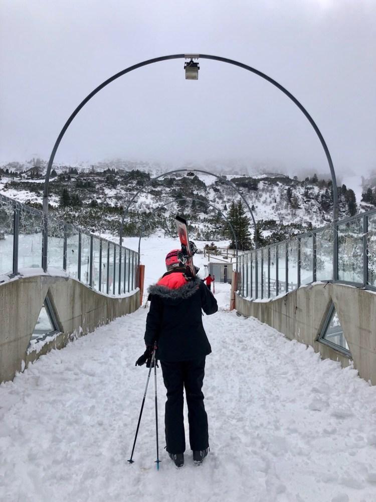 Obertauern no cars skiing