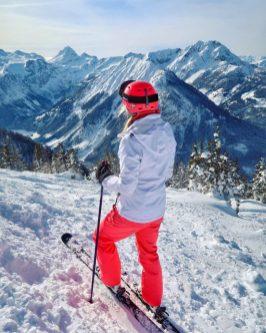 Flachauwinkl ski panorama