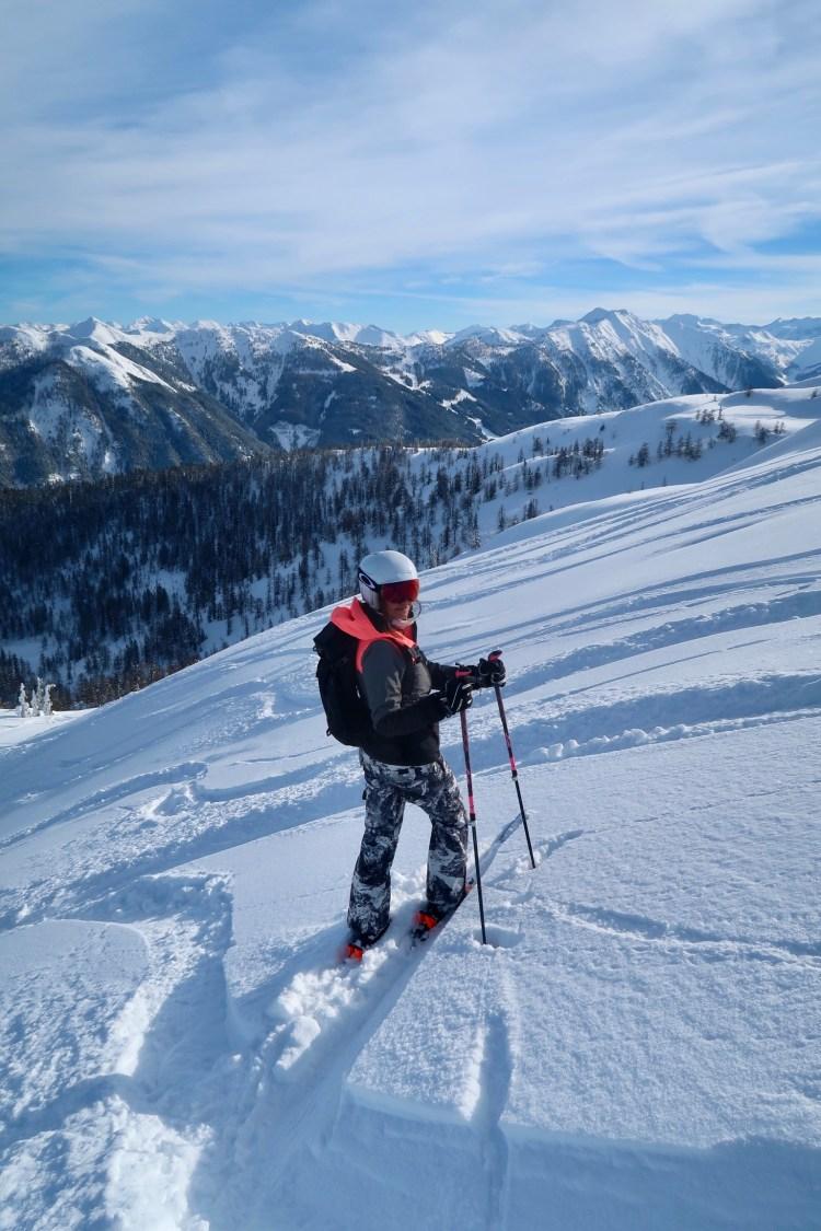 Wagrain skiing snow