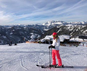 Flachauwinkl skiing slopes