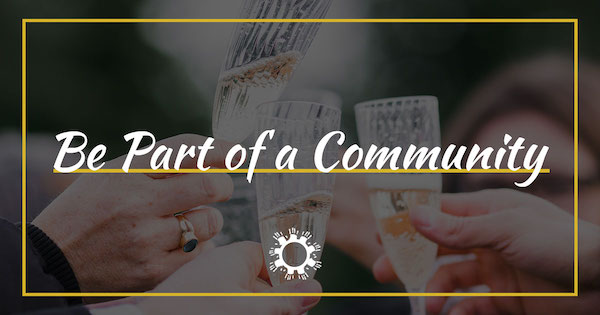Be Part of a Community | Join the Son Shine Community