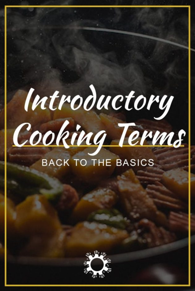 Introductory Cooking Terms