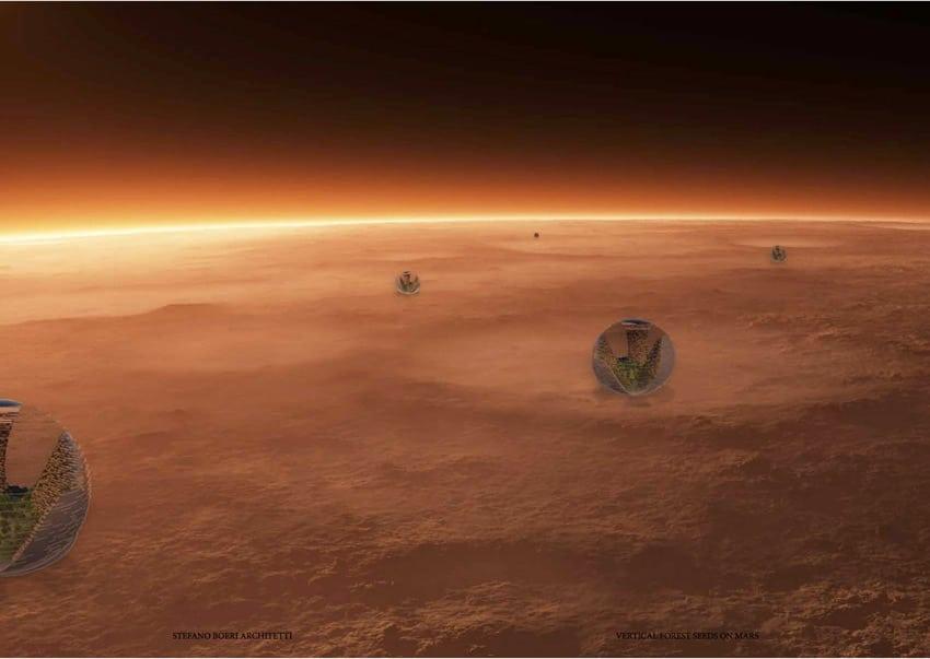 Shanghai su Marte