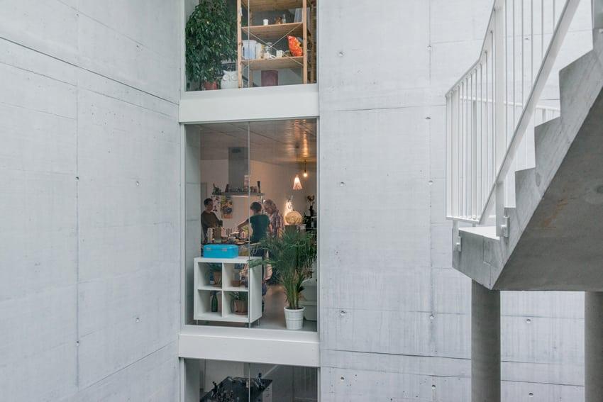 Haus A (particolare). Foto: Johannes Marburg