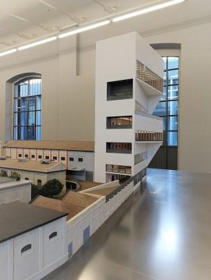 Modello 3 progetto OMA © Fondazione Prada Milano