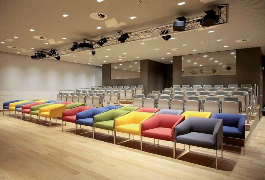 campus milano pianta interni teatro