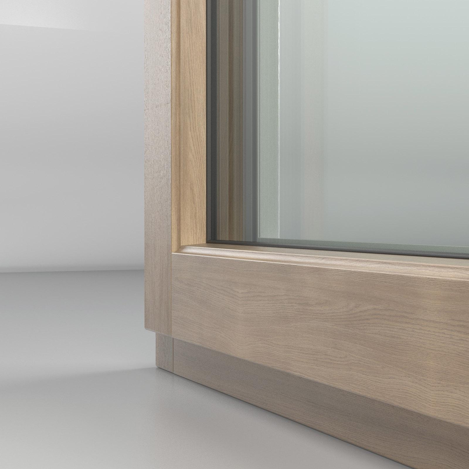 Rivista Porte E Finestre fin-ligna: l'innovativa finestra in alluminio-legno e pvc-legno