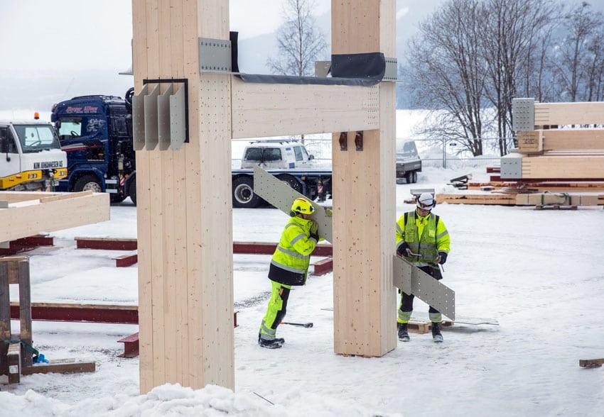 Mjøstårnet, il palazzo in legno più alto del mondo