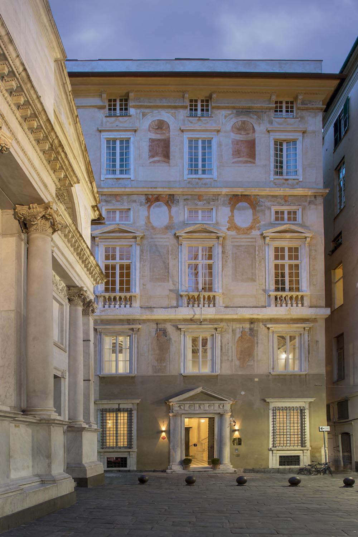 Esterno Palazzo Grillo