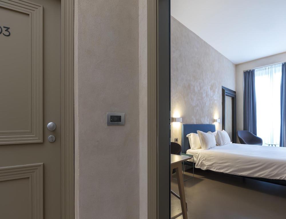 Vista camera Palazzo Grillo Genova
