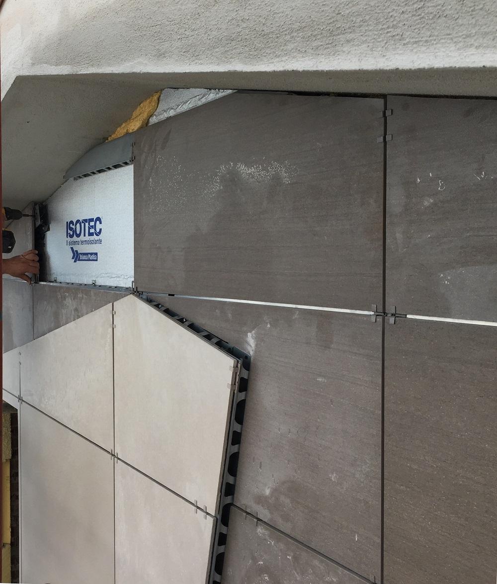 isotec parete pannelli sagomati