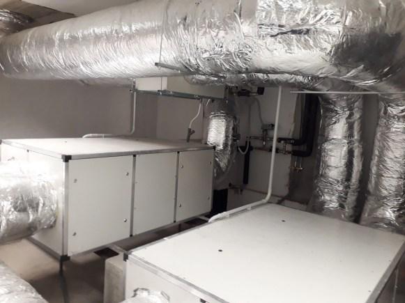 Il sistema di ventilazione meccanica controllata