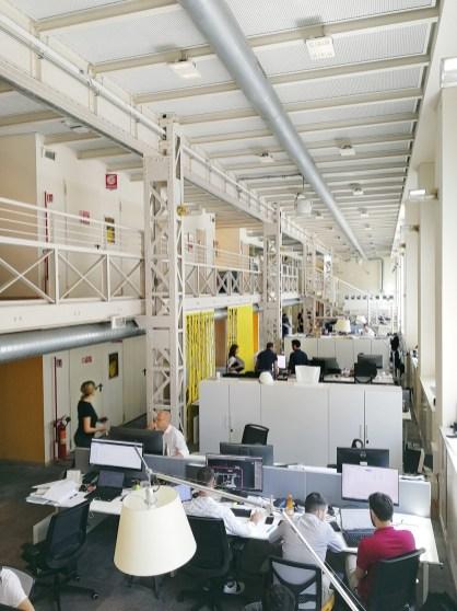 Visione parziale della sede Arcadis di Milano