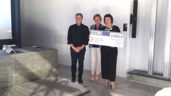 2° premio, architetti Nicola Colucci e Romina Succi dello studio Archipiù