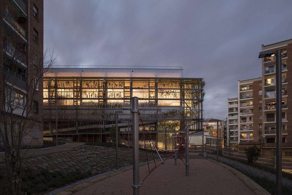 nuovo edificio barcellona