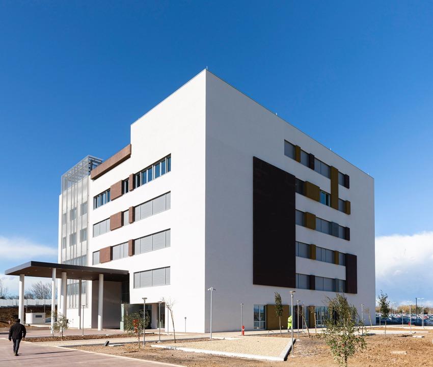Esterno della nuova sede della Facoltà di Medicina - La Sapienza