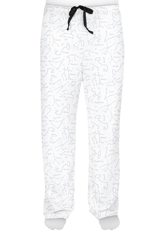 Zodiac Constellations Mens Pajama Pants