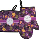 Oven Mitts Pot Holders Pot Holder And Mitt Set Halloween Home Furniture Diy Instituteoffinearts Co In