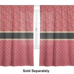 Red Western Curtain Personalized Youcustomizeit