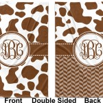 Cow Print Baby Blanket Personalized Youcustomizeit