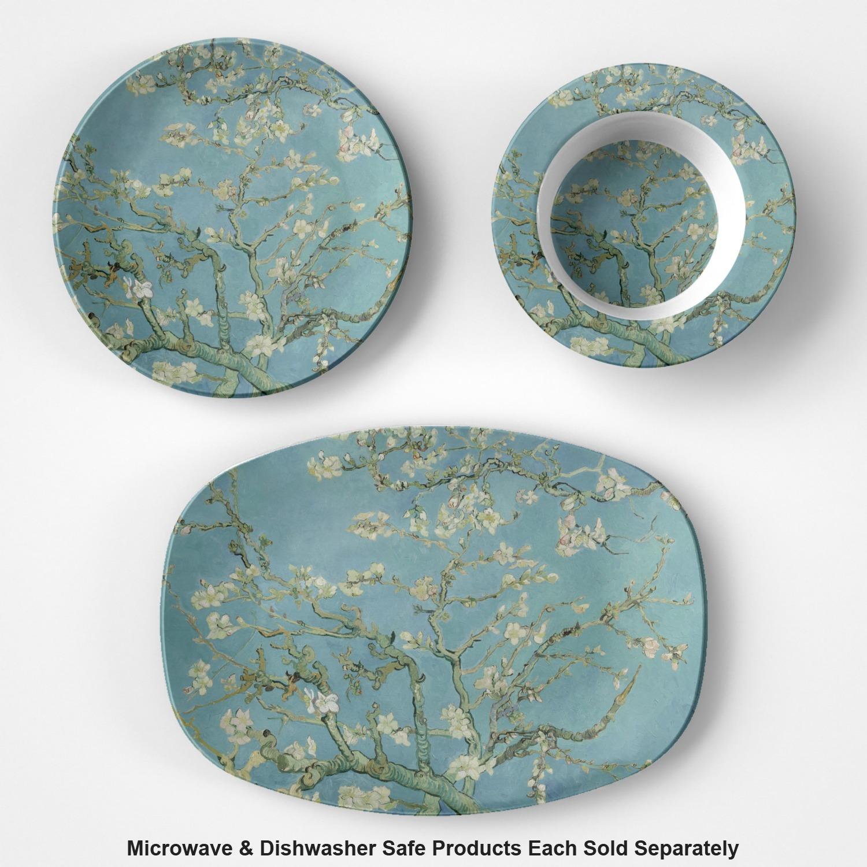 almond blossoms van gogh microwave safe plastic plate composite polymer
