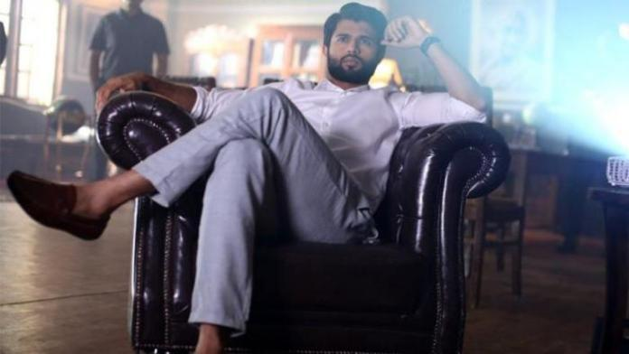 Vijay Devarakona as Varun in NOTA Movie
