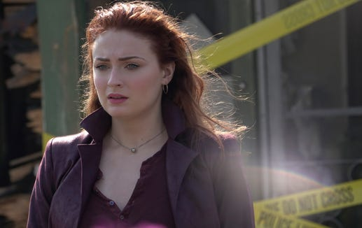 Sophie Turner role in Dark Phoenix