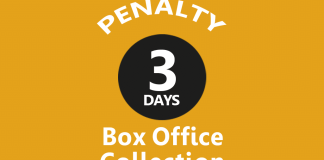 Penalty 3rd Day Box Office Collection