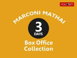 Marconi Mathai 3rd Day Box Office Collection