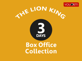The Lion King 3rd Day Box Office Collection