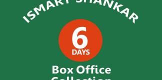 iSmart Shankar 6th Day Box Office Collection