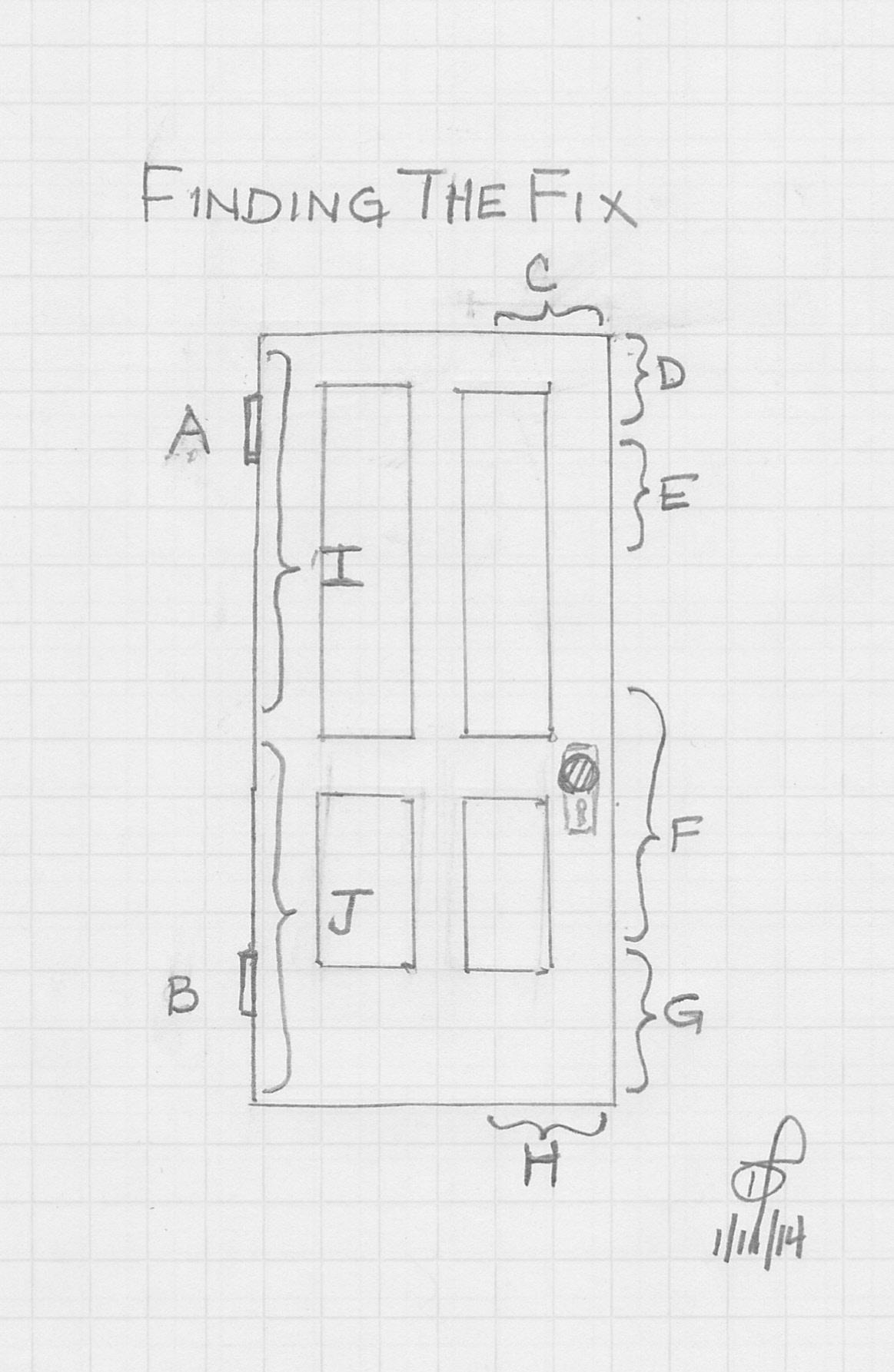 Door Repair How To Fix A Ghost Door