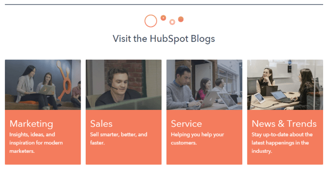 hubspot home page 2019