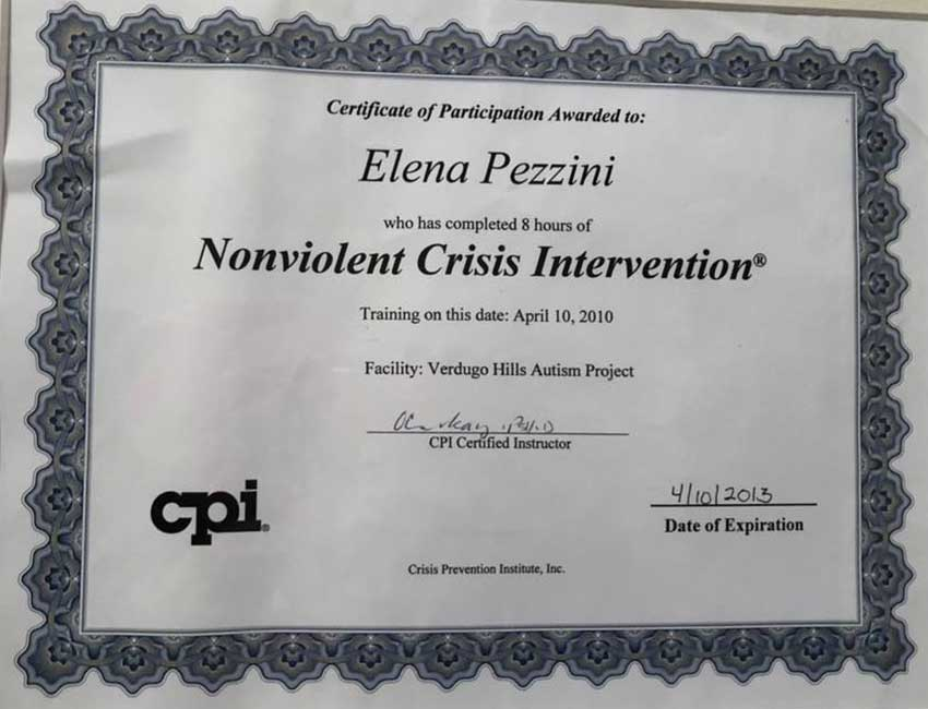 Elena-Pezzini-Non-Violent-Assistante-Envirorment