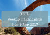 YHTL Weekly Highlights – 3 to 9 Apr 2017