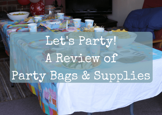 Let's Party! A Review of Party Bags & Supplies