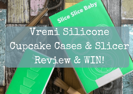 Vremi Silicone Cupcake Cases & Slicer Review & WIN!