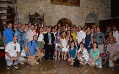 I giovani missionari incontrano il Card. Cañizares
