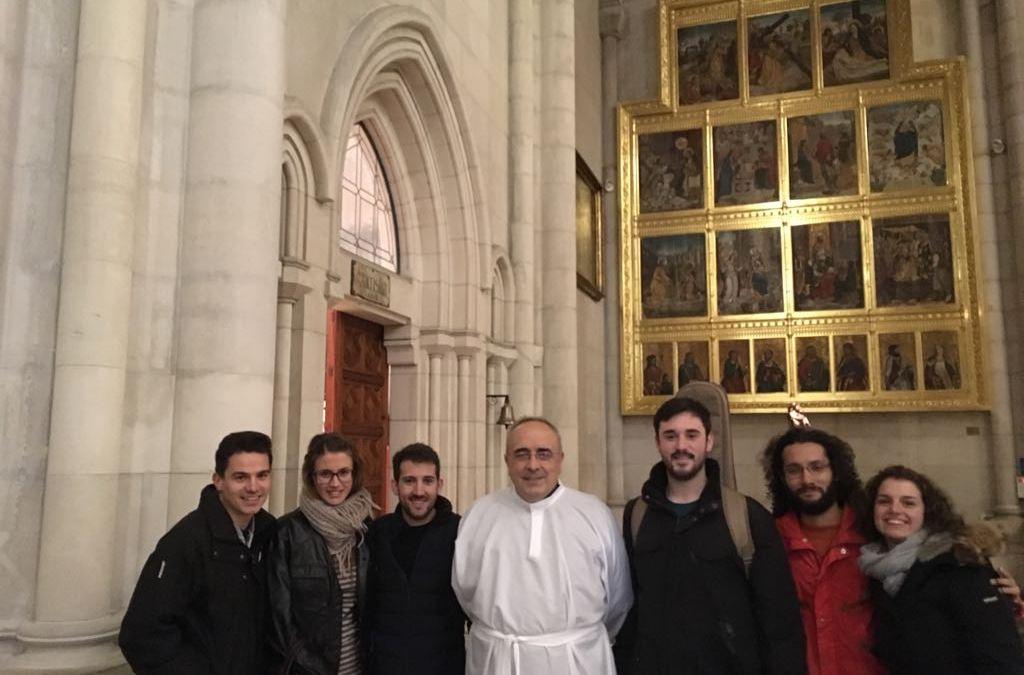 Alegría en la Catedral de la Almudena