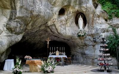 Grande Santa Messa di chiusura del mese Mariano alla Grotta di Chiampo