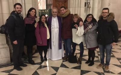 Madrid: ¡ una evangelización de categoría en la Catedral de la Almudena!