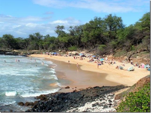 夏威夷毛伊岛裸体海滩 Maui Little Beach