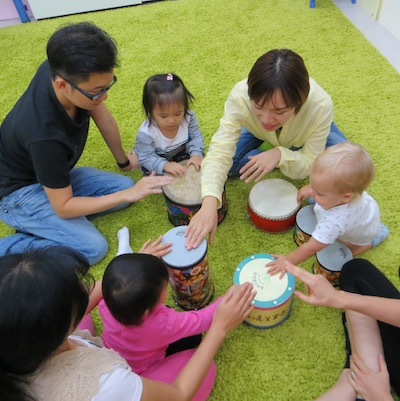 mandarin parent accompanied playgroup