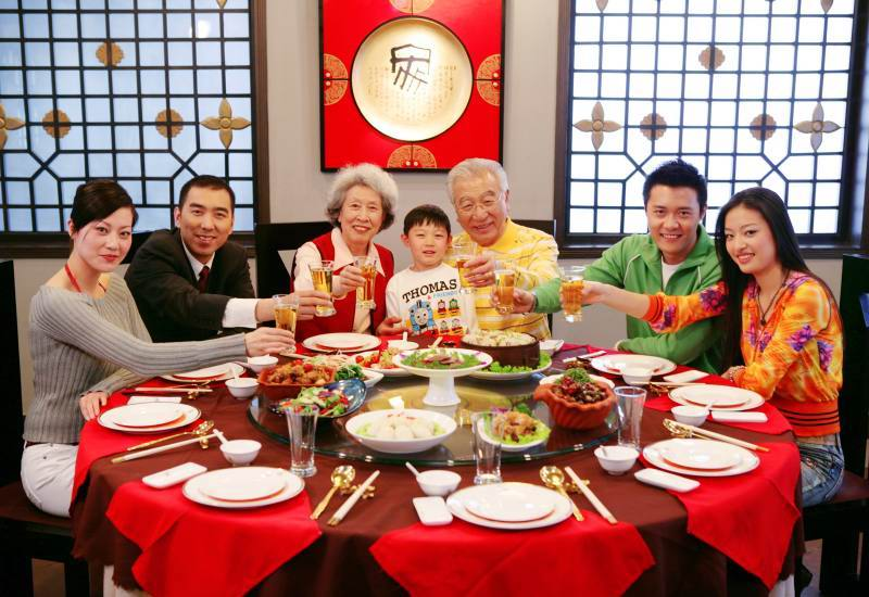 Chinese New Year: The Reunion Dinner
