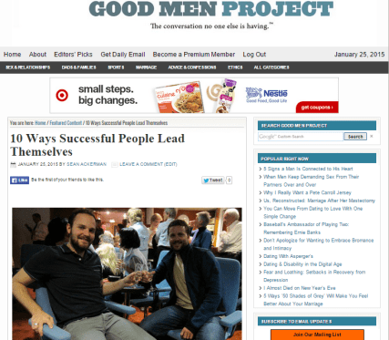 10Ways Good Men Project