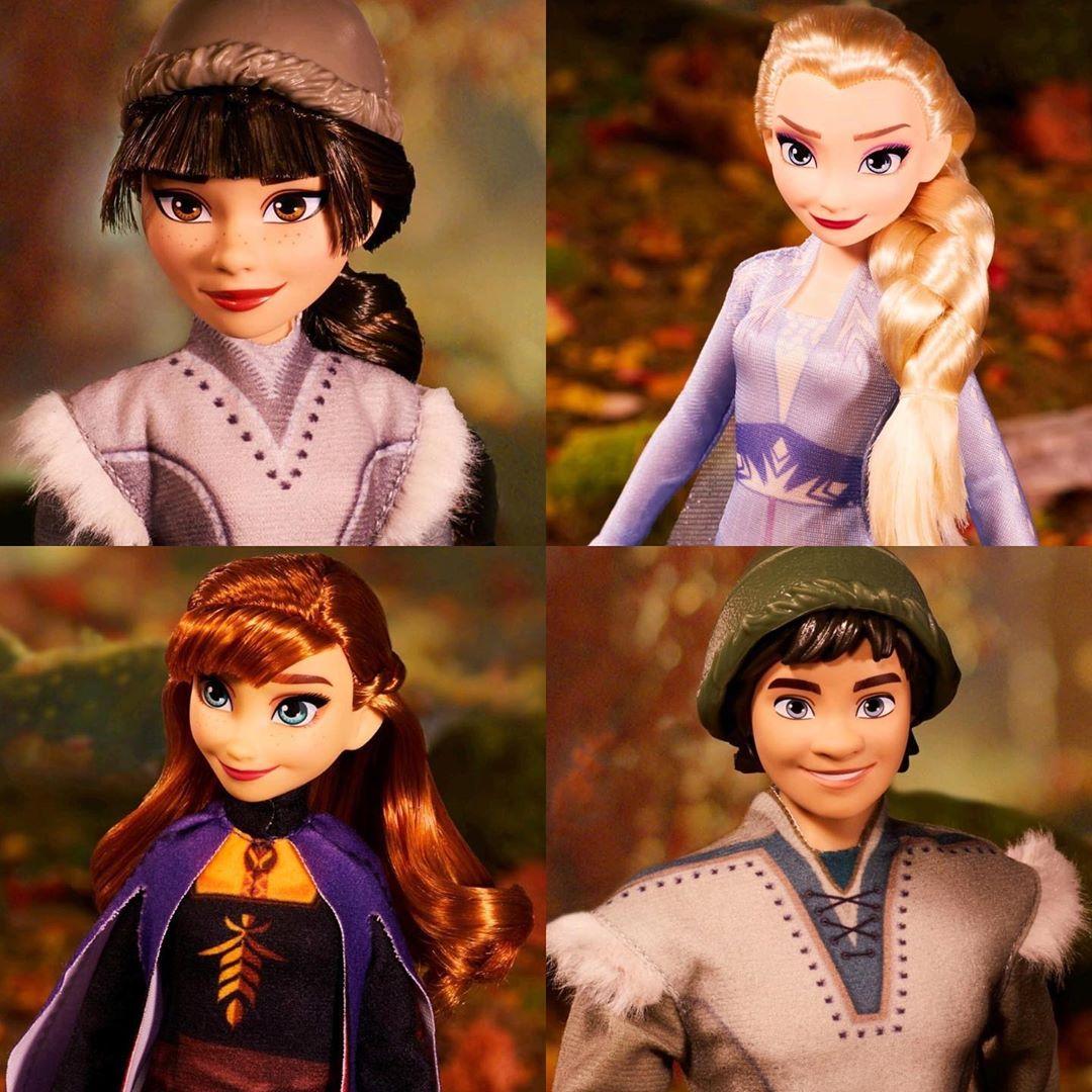 Frozen 2 Set Of 4 Dolls With Elsa Anna Northulda Honeymaren And Ryder Youloveit Com