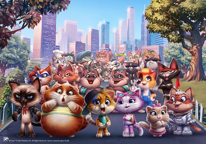 44 кошки - новый мультфильм от создателей Винкс